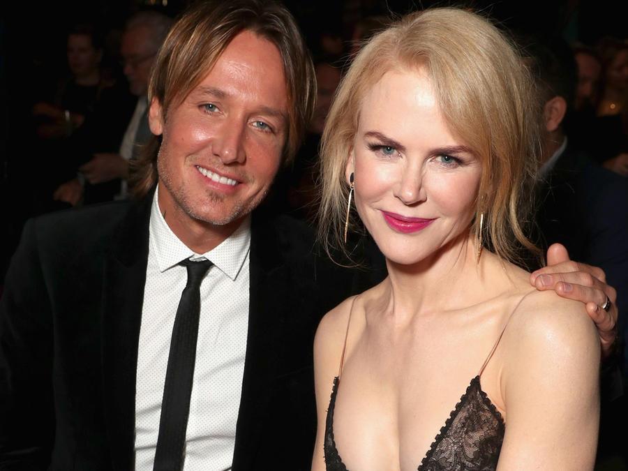 Nicole Kidman y Keith Urban en los 6th AACTA International Awards en enero de 2017