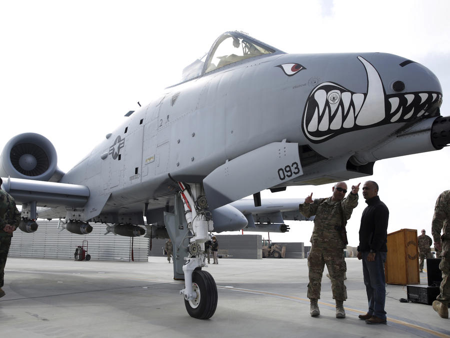 Imagen de archivo de un avión de combate A-10C Thunderbolt II.