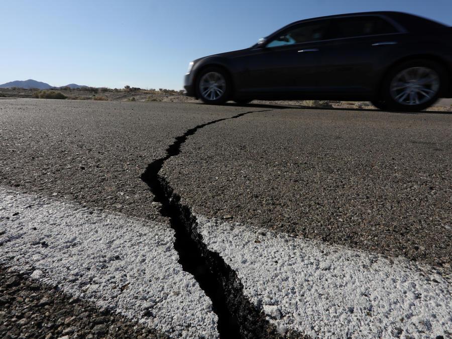 Daños causados por el terremoto del 4 de julio en Ridgecrest (California).