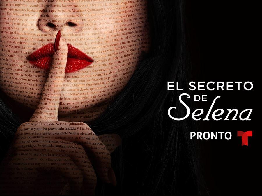 Portada de El Secreto de Selena, la serie basada en el libro de María Celeste Arrarás
