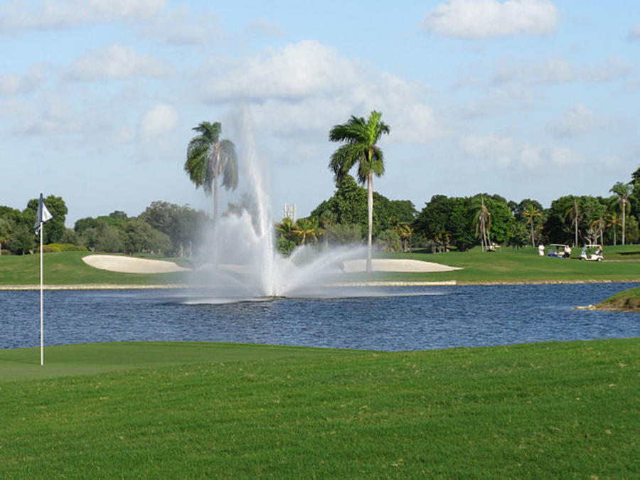 El Doral Golf Resort de Miami (Florida) en una foto de archivo.