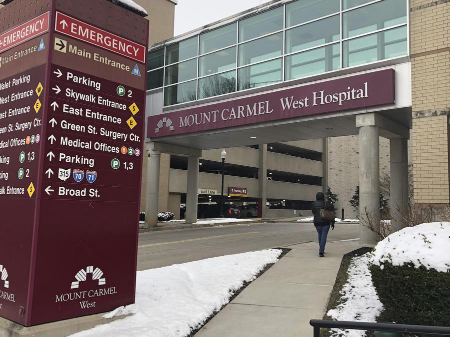 Imagen de archivo del Sistema de Salud Mount Carmel, en Columbus, Ohio.