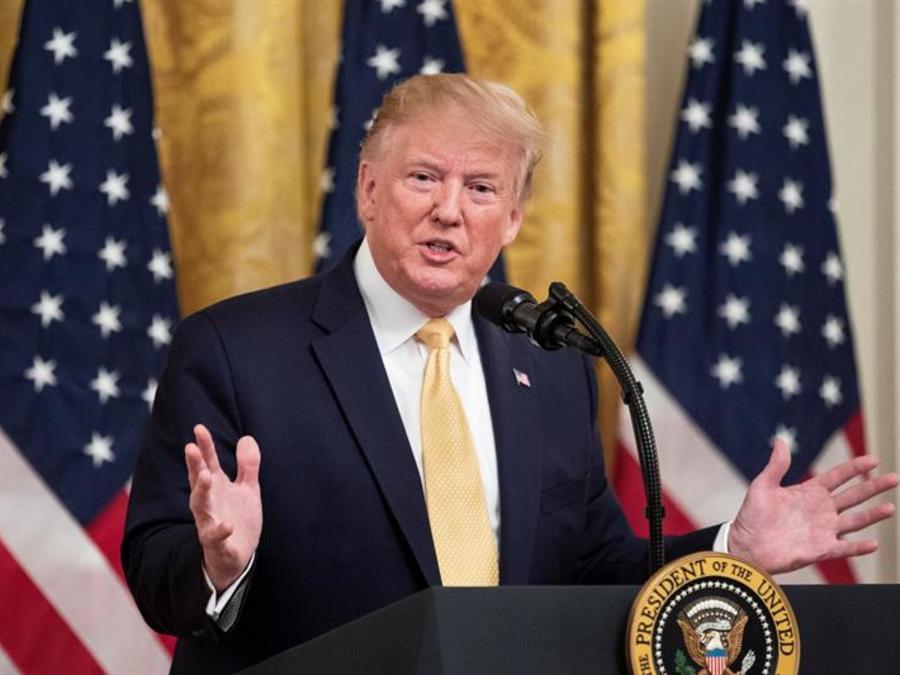 Donald Trump, el presidente de EEUU, en una foto de archivo.