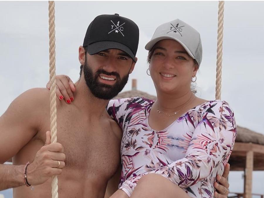 Adamari López y Toni Costa