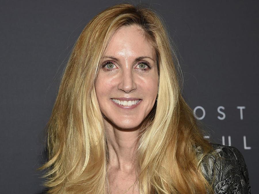 La comentarista conservadora Ann Coulter durante un evento en New York.
