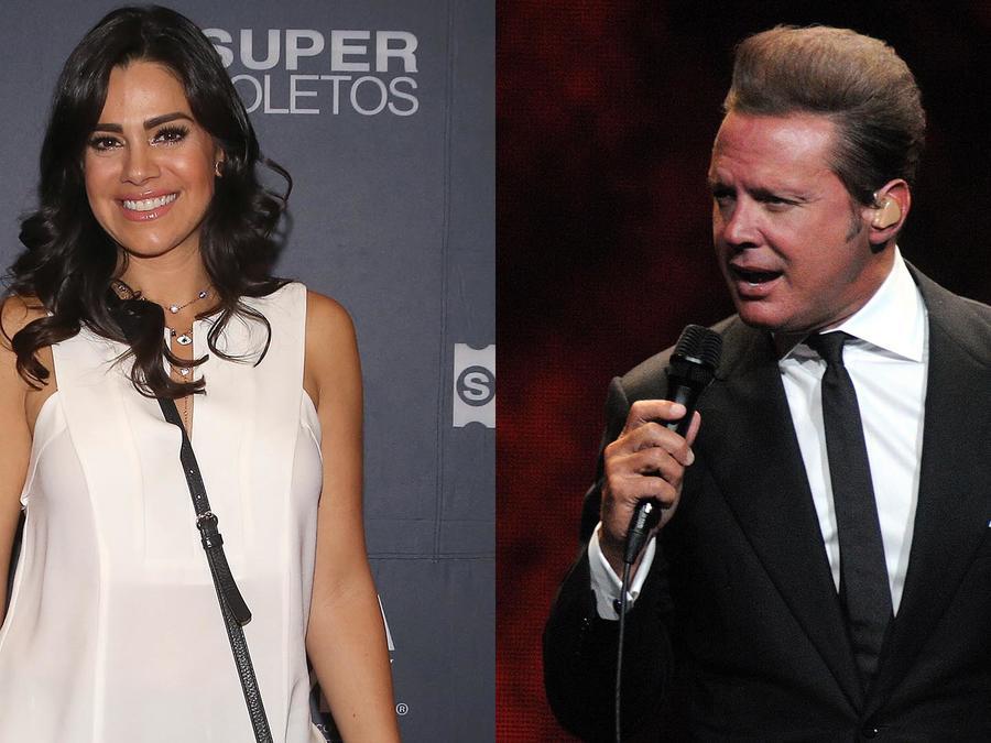 Luz Elena Gonzales y Luis Miguel
