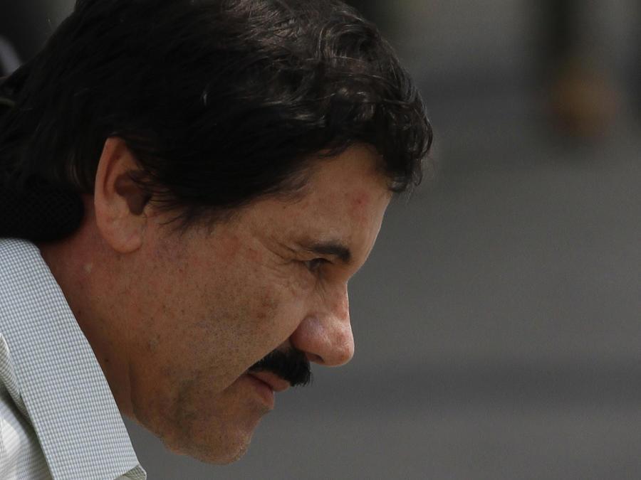 """Imagen de archivo de Joaquín """"El Chapo"""" Guzmán en febrero de 2014."""