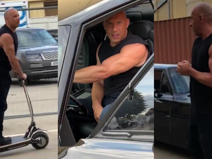Vin Diesel y su regalo de cumpleaños durante rodaje de Fast 9