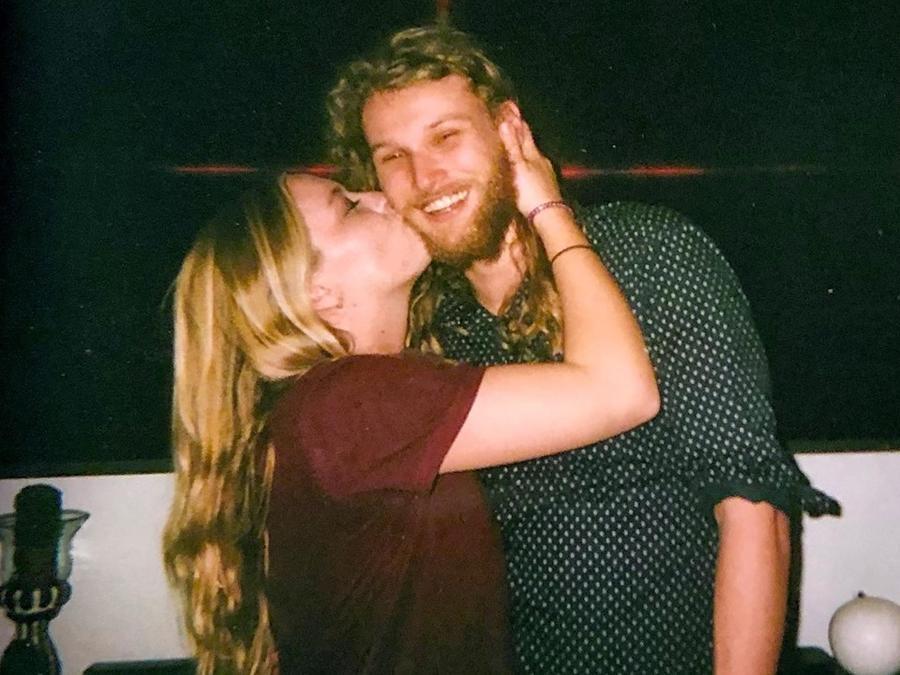 Lucas Fowler y Chynna Deese en una foto de archivo.