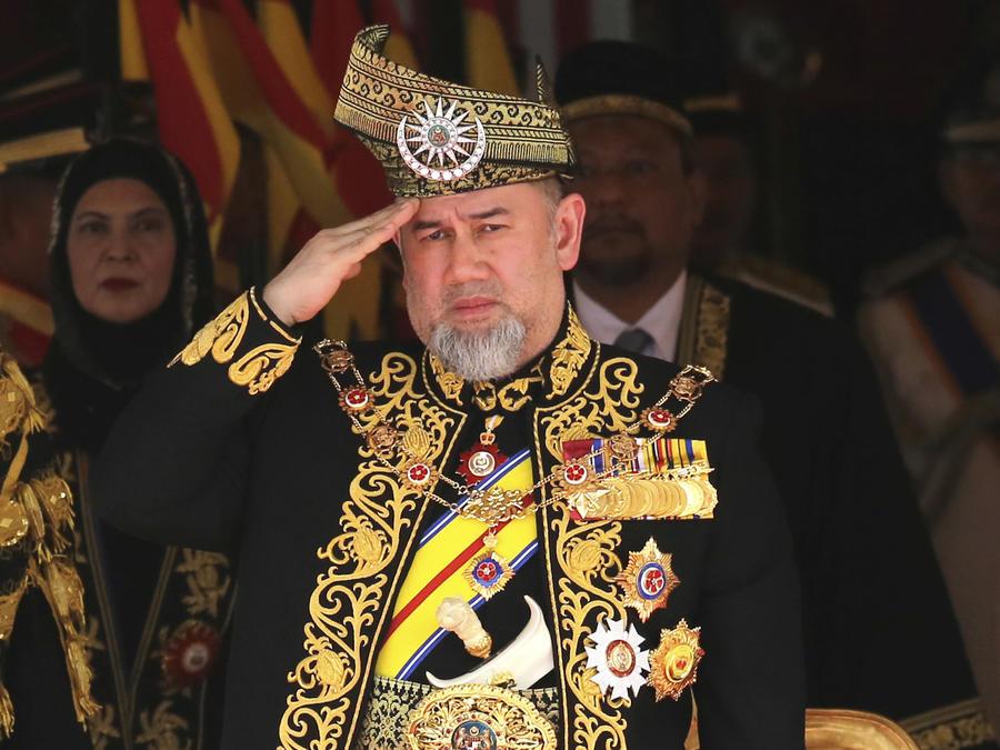 Imagen de archivo de Mohamed V en julio de 2018.