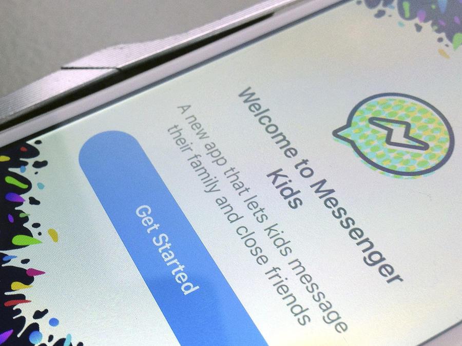 Facebook Messenger Kids para niños.
