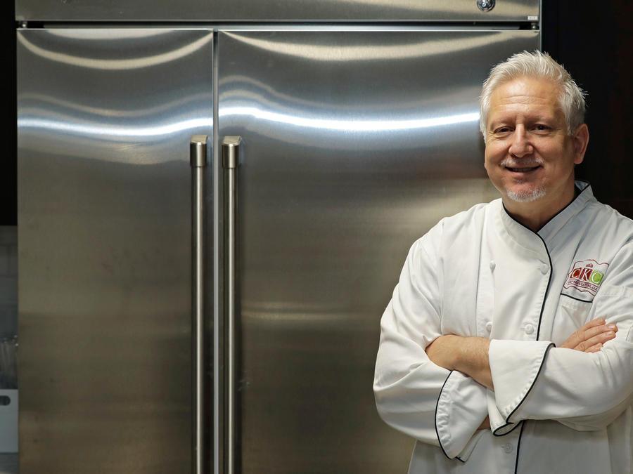 Chef McNamee que cocina para los ricos