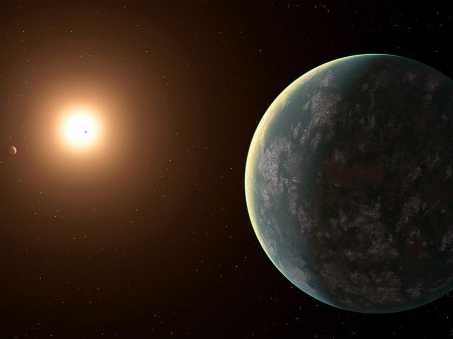 Reconstrucción artística de GJ 357-d, un nuevo planeta descubierto que podría albergar vida.