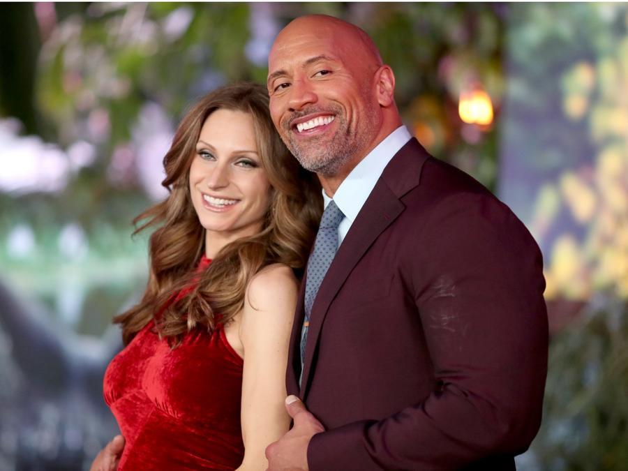 """Dwayne """"The Rock"""" Johnson Marries Longtime Girlfriend Lauren Hashian in Hawaii"""