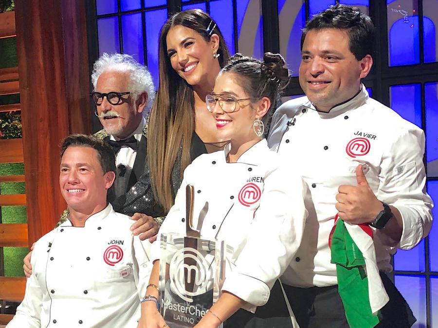 Lauren Arboleda celebra tras ganar MasterChef Latino 2