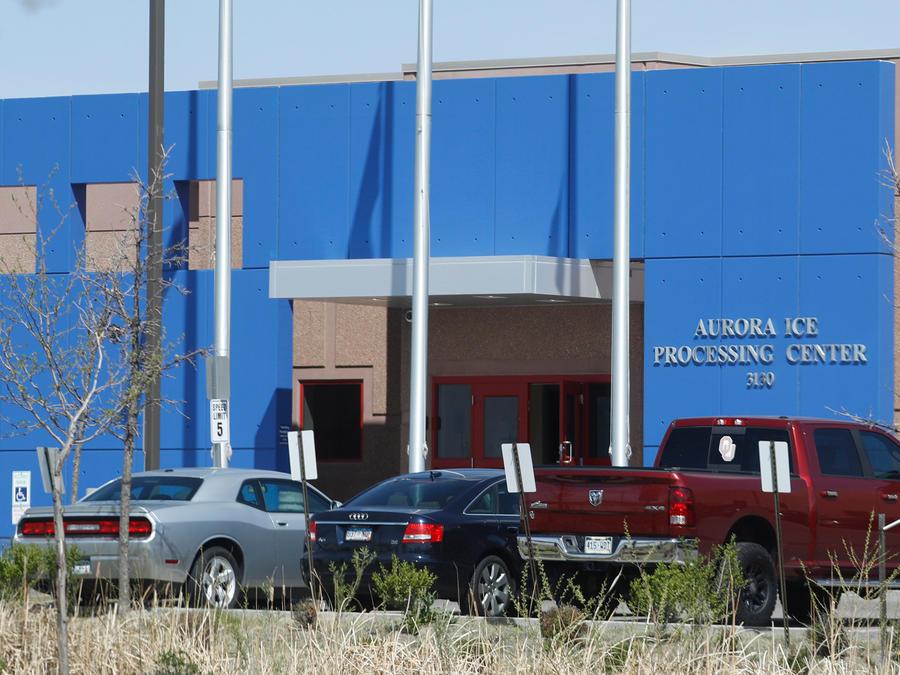 Centro de inmigración en Colorado administrado por GEO en una imagen de archivo