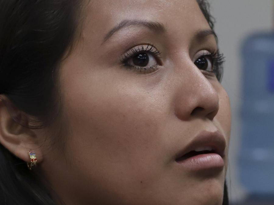 Imagen de archivo de Évelyn Hernández.