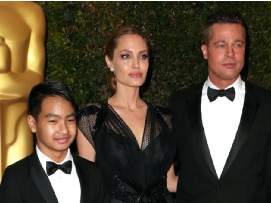 Angelina Jolie, Brad Pitt y Maddox