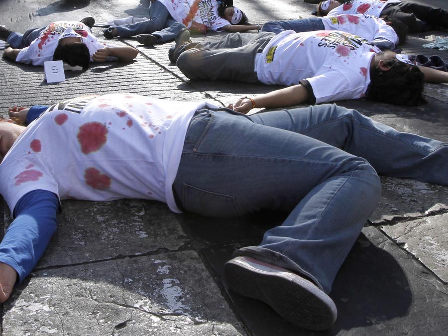 """""""Una verdadera cacería de migrantes"""". Activistas denuncian una """"guerra"""" de soldados mexicanos armados contra inmigrantes"""