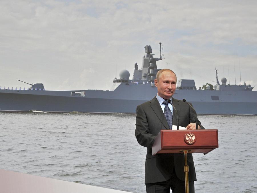 Imagen de archivo del presidente ruso, Vladimir Putin.