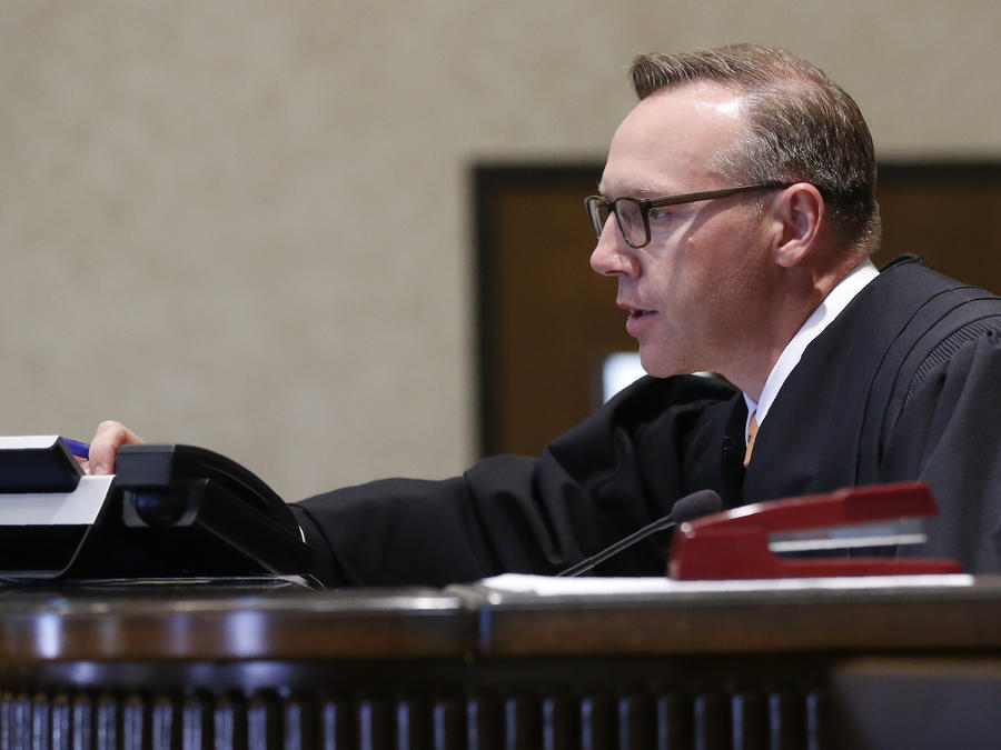 Imagen de archivo del juez Thad Balkman.