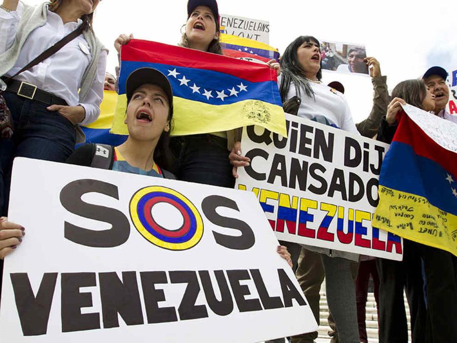 Venezuela Demonstration