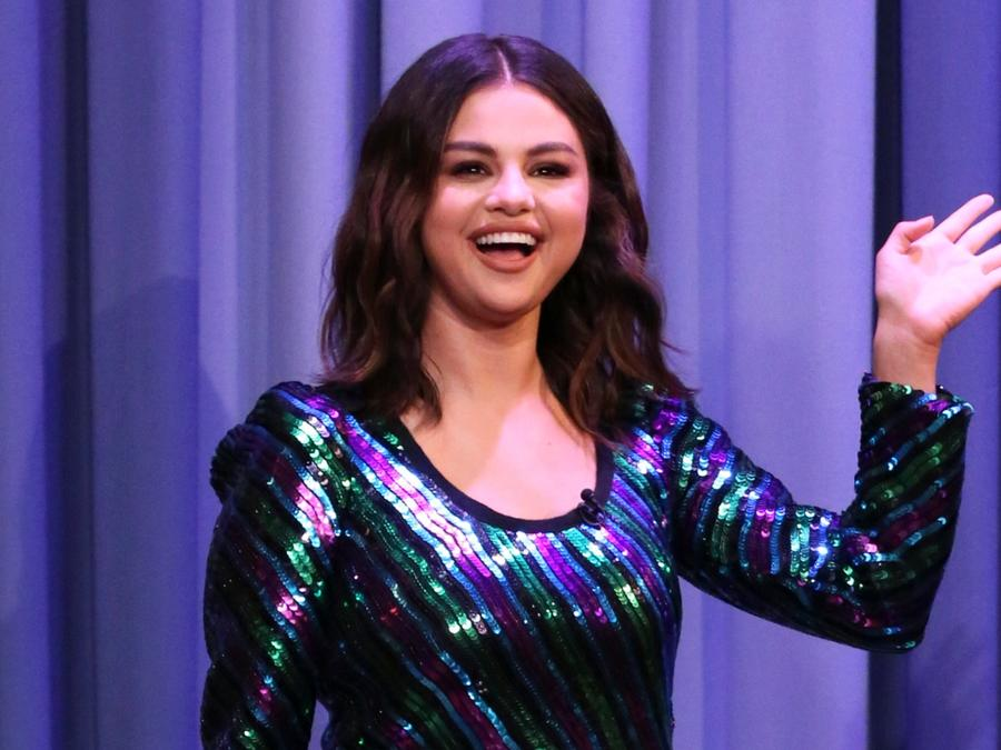 Selena Gomez at the Tonight Show