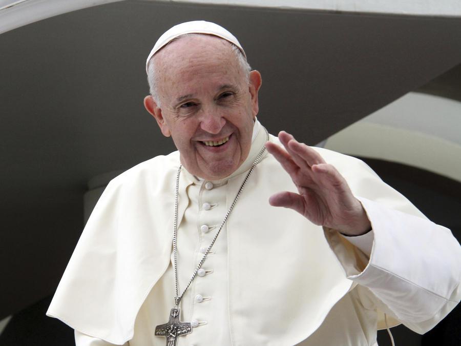 Imagen del Papa Francisco durante su viaje a Mozambique el 5 de septiembre de 2019.