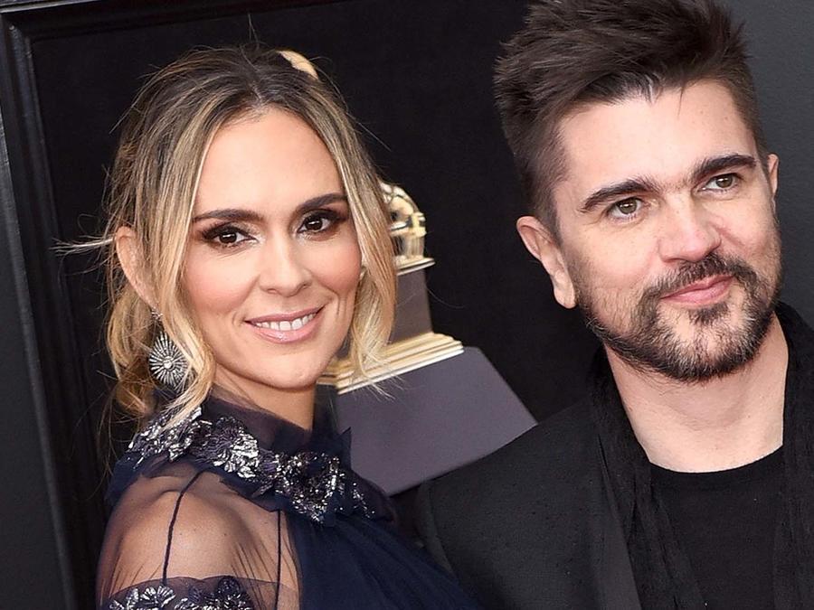 Karen Martínez y Juanes