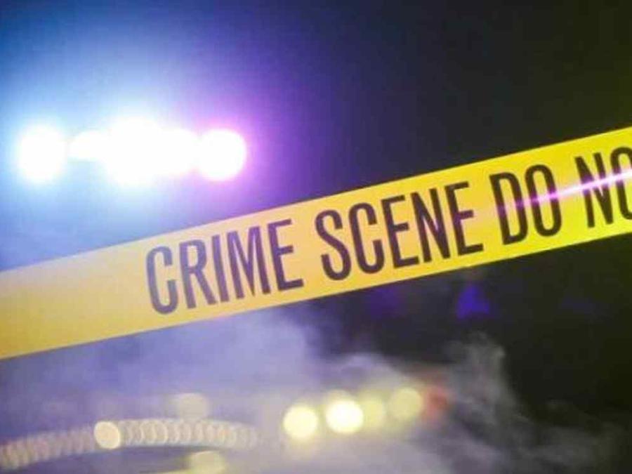 Una cinta policial en una escena del crimen.