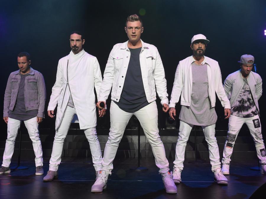 Backstreet Boys live in concert