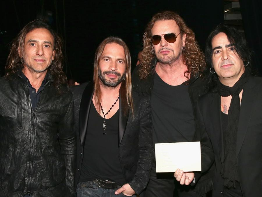 Mana at the Latin Grammy Awards