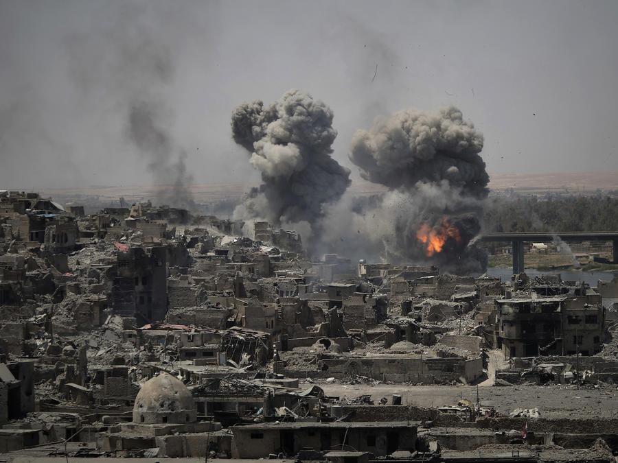 Imagen de archivo de la Guerra en Irak.