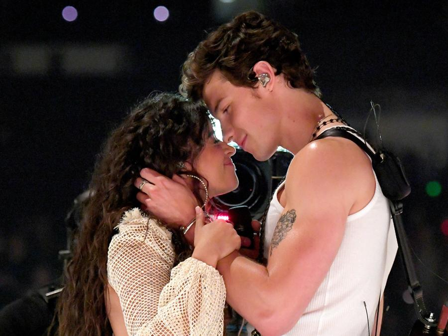 Camila Cabello & Shawn Mendes at the MTV VMAs