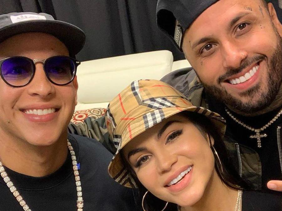 Daddy Yankee, Natti Natasha y Nicky Jam en el ensayo del Reggaeton White Concert en Puerto Rico
