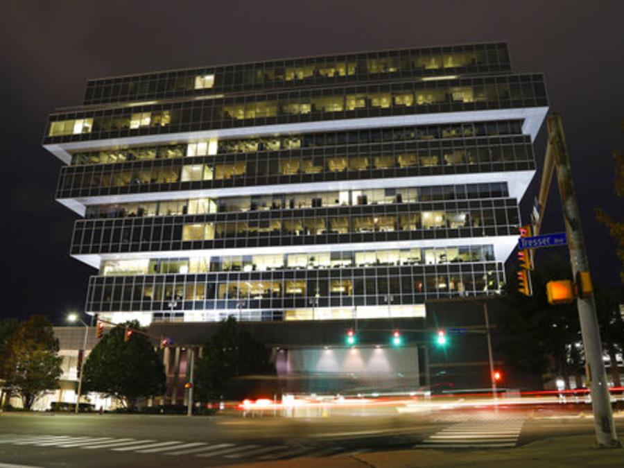 La sede central de Purdue Pharma en Stamford, Connecticut, en una imagen de este jueves.
