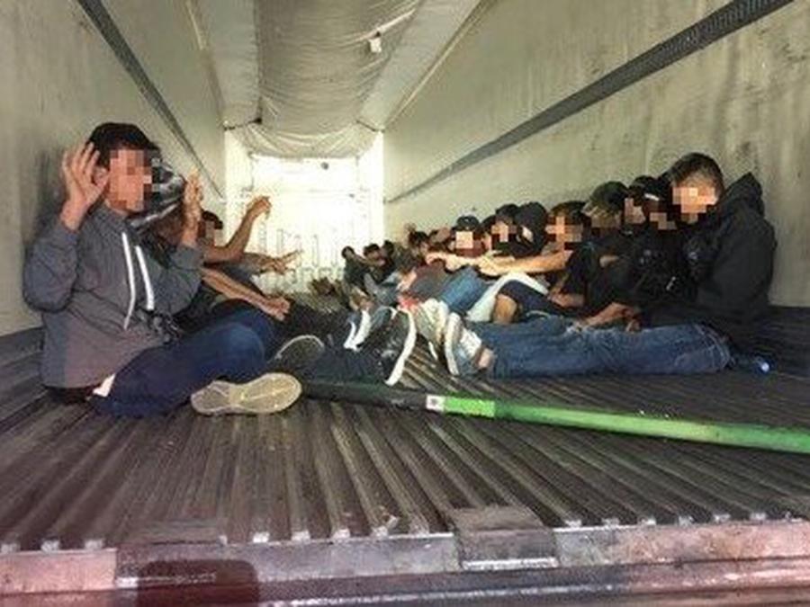 31 migrantes detenidos