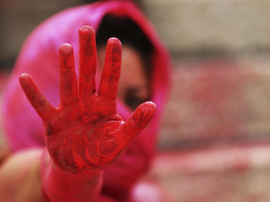 Protesta el 6 de septiembre en la Ciudad de México por la violencia contra mujeres.