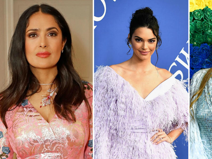 Salma Hayek, Kendall Jenner y Thalía