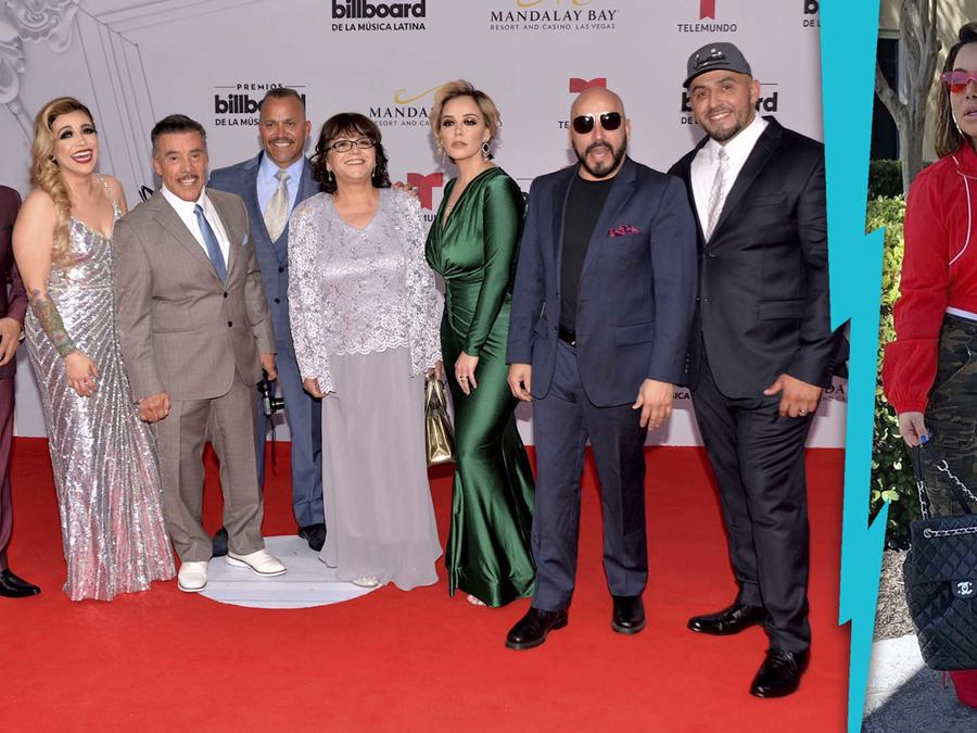 Chiquis Rivera y familia Rivera