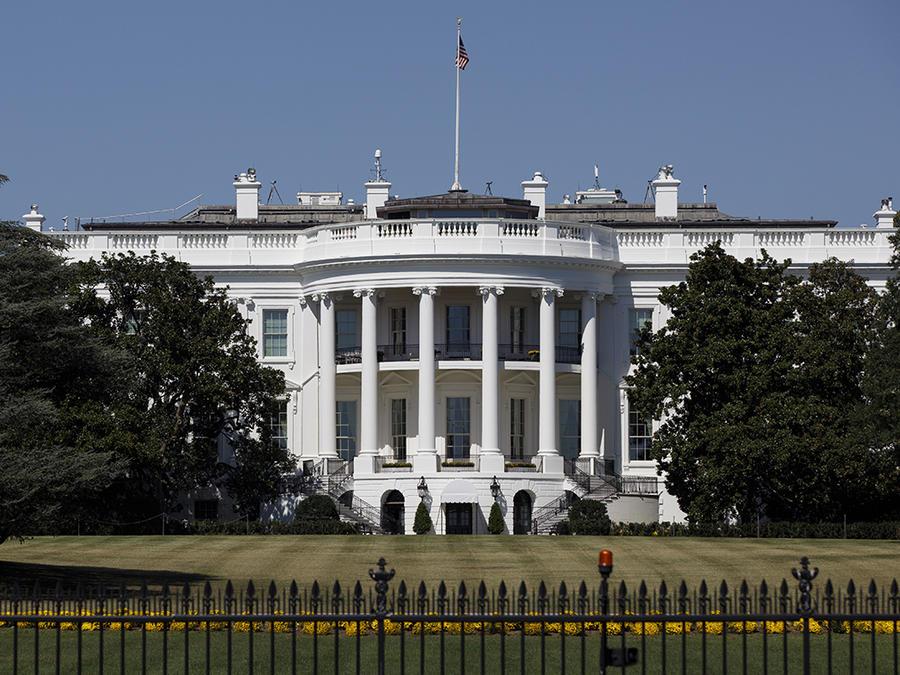 Imagen de la Casa Blanca, en Washington.