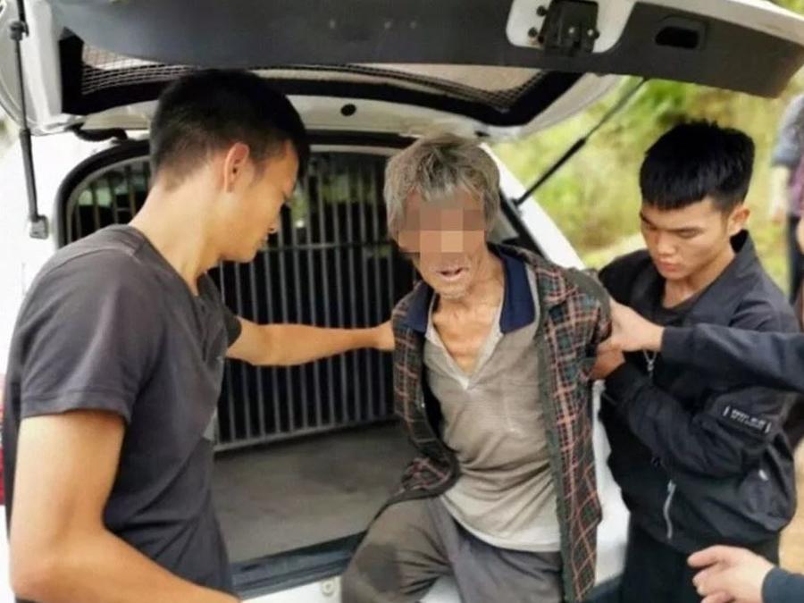 Song Jiang, un fugitivo chino, fue arrestado después de 17 años de fuga.