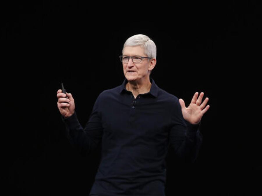 Tim Cook, consejero delegado de Apple, en un evento del pasado junio.