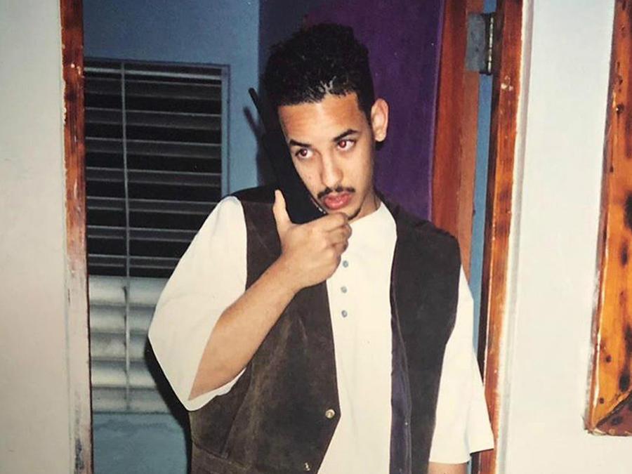 Daddy Yankee joven