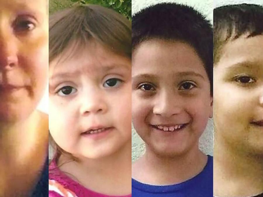 Rodríguez supuestamente secuestró a sus tres hijos del condado de Saline, Missouri, en 2017. Ariana tenía un año de edad, mientras que sus hermanos, Daniel y David, tenían 7 y 5 años, respectivamente.