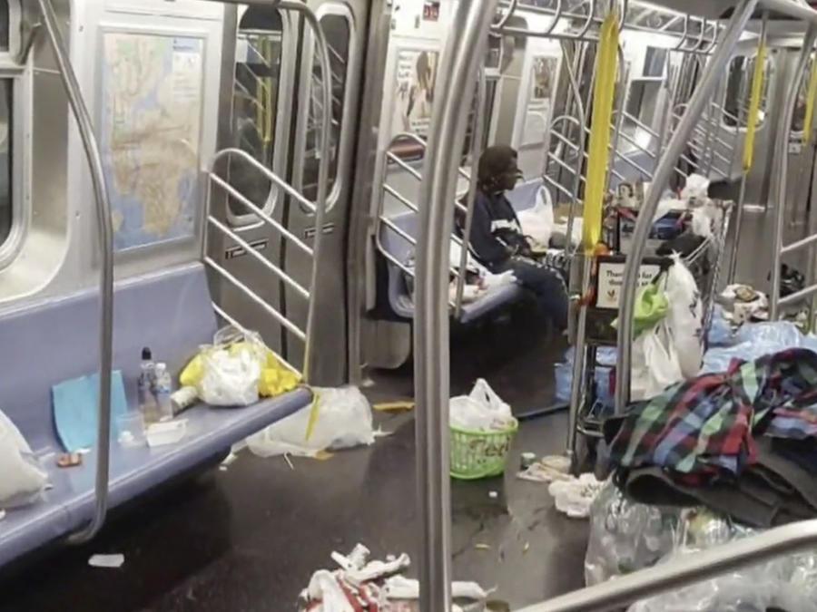 Basura metro Nueva York