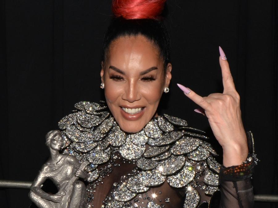 Ivy Queen at La Musa Awards