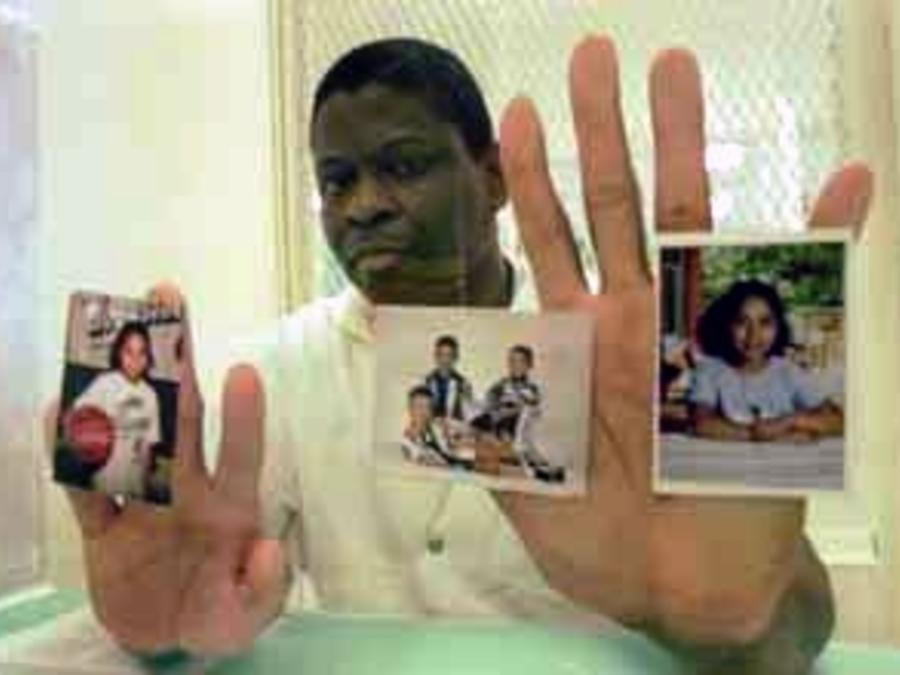 El preso Rodney Reed en una foto de archivo.