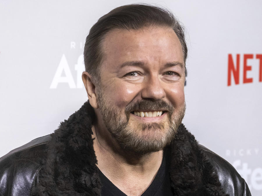 "Ricky Gervais to Host the 2020 Golden Globe Awards for Fifth & ""Very Last Time"""