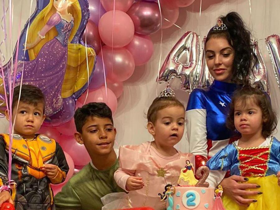 Georgina Rodríguez e hijos